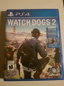 Watchdogs2 ps4 $40 or trade