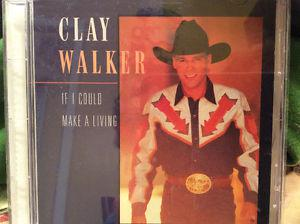 clay Walker. If I could make a living. CD