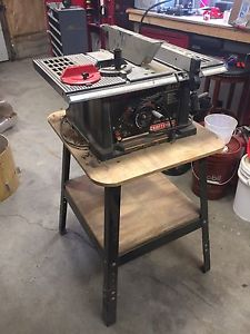"10"" Craftsman Table Saw"