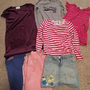 7/8 girls clothing lot