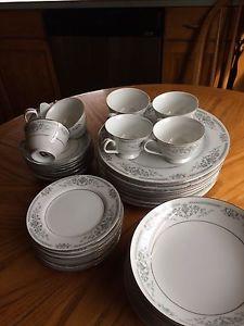 8 place setting bone china