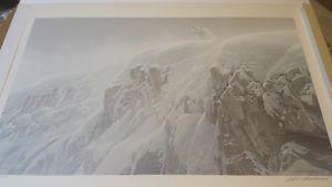 Arctic Cliff Robert Bateman Print