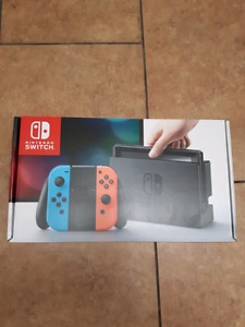 BRAND NEW COLOURED NINTENDO SWITCH NEVER USED