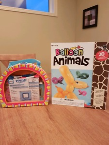 Balloon Animal Kit and Bracelet Making Kit