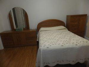 Bedroom Suite (Triple dresser, Chest of drawers, Head board)
