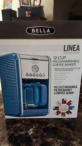 Bella Linea Collection 12-Cup Programmable Coffee Maker bnb