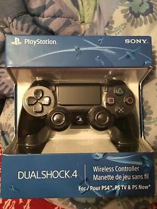 Black PS4 controller brand new sealed $50 or trade for BF1