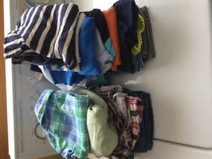 Boys summer clothes sz 3 mos