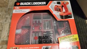 Brand New 18V Black & Decker Brand New Drill Comes with