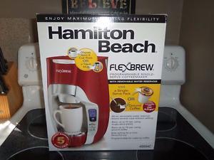 Brand New Hamilton Beach Flex brew