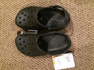 Brand new boys size 3/5 Crocs