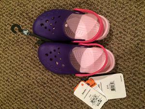 Brand new size 11 girls Crocs