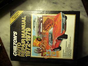 Chilton's Auto Repair Manual  and Honda Civic