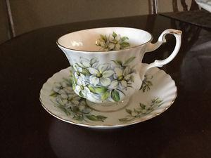 China cups and saucers
