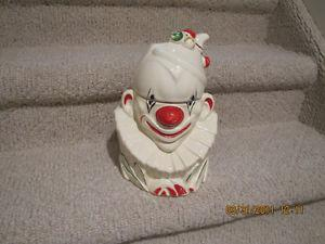 Clown Cookie Jar - Mc Coy - Vintage