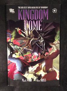 DC Kingdom Come Comic Book! Mark Waid and Alex Ross!