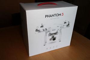 DJI Phantom 3 Advanced Drone - with Hard Case