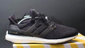 DS Adidas Ultra Boost 3.0 Core Black - SZ  OBO