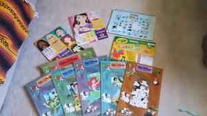 Disney books and coloring books