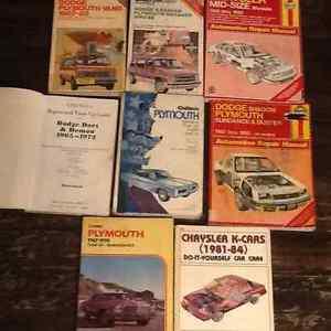 Dodge, Plymouth, Chrysler, fury,demon,dart,van,k car shop