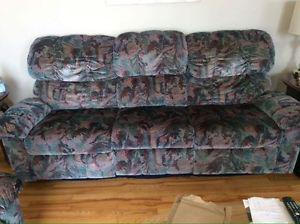 Elran reclining sofa and chair