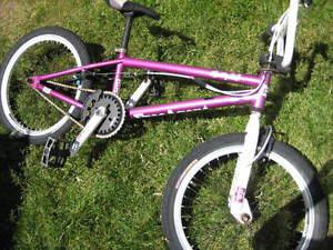 FA bmx bike, 10 in frame. 20X1.95 tires. Front/ rear hand