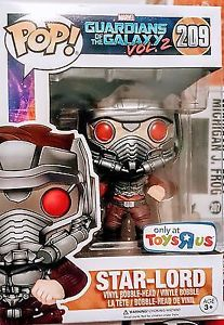 Funko Pop! Guardians Of The Galaxy Star Lord Toys R Us