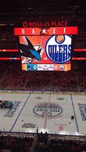 Game 3 or Game 4 Oilers playoff Tickets