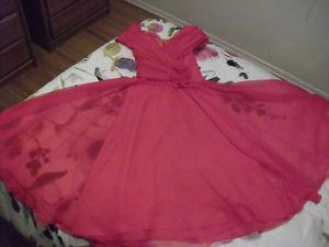Gorgeous Pink Princess Dress Size 9/10