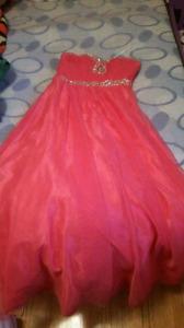 Grad / debut princess dress.
