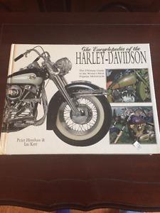 Harley-Davidson hard cover book
