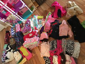 Huge 18 month girls clothing lot!