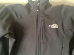 Ladies North Face Apex Black Coat Size XS