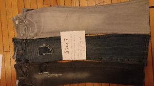 Ladies size 7 jeans /pants