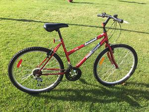 """Red Supercycle mountain bike (26"""" wheels)"""