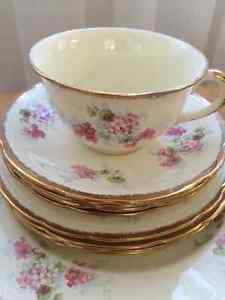 Royal Marigold Lunch set of China Dishes