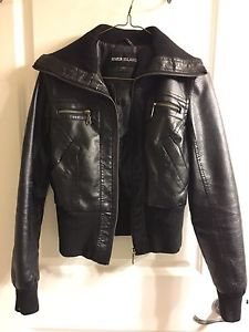SM Faux Leather Jacket