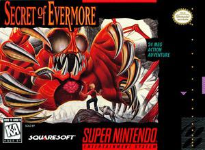 Secret of Evermore - SNES - Great Condition!