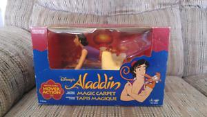 Vintage Disney Aladdin Battery Operated Magic Carpet