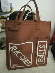 Vintage FMA Racquet Ball Tote Bag