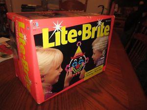 Vintage LITE BRITE Game For Sale
