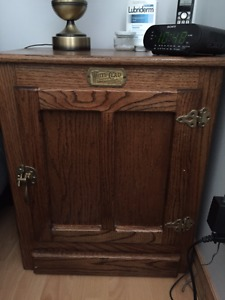 Vintage bed side table