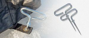 Wanted: Ice tent anchors needed