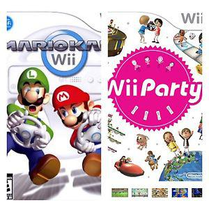 Wanted: Looking for Wii Mario Kart and Wii Party game