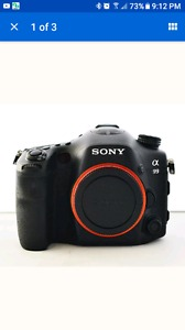 Wanted: Wanted sony a99 camera