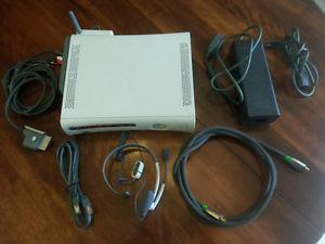 Xbox 360 with Wireless, and 12 Games