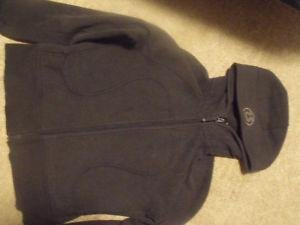 lululemon grey scuba hoodie size 10 from smoke free home