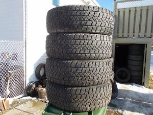 p inch Winter Tires / Chev Rims / LOTS OF TREAD