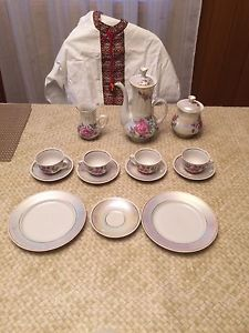 2 Vintage Fine China Tea sets from the Ukraine
