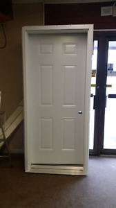 """34"""" steel door"""